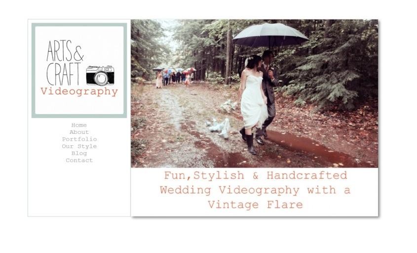 Arts & Craft Wedding Videography